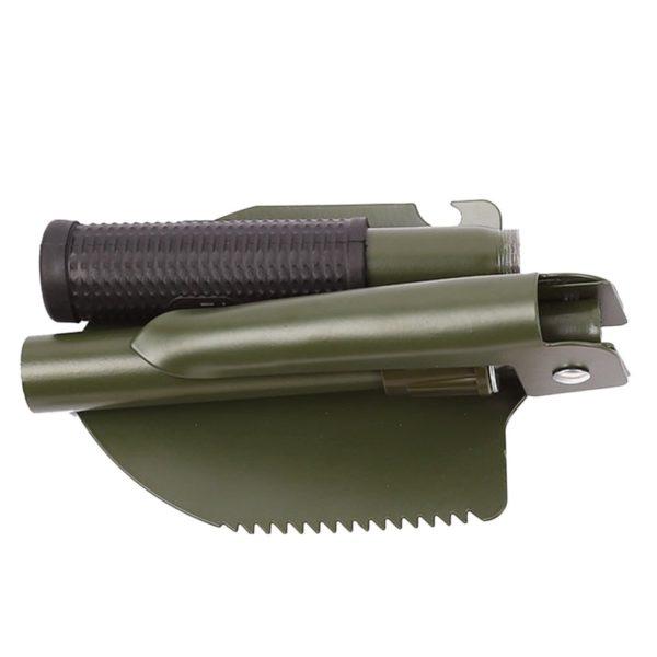 Skládací lopatka/rýč na zahrádku nebo záhonek