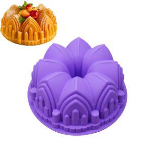 Silikonová pečící forma na bábovku nebo dortový korpus