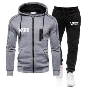 Autumn and winter men's sports casual wear hoodie sweater suit men and women outdoor running two-piece couple casual wear