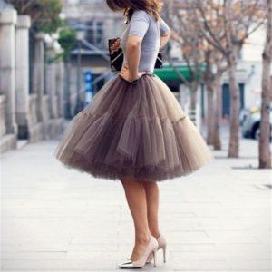 Dámská luxusní Vintage sukně Nicol