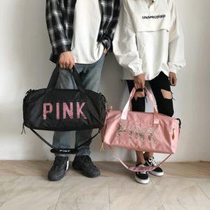 Dámská taška PINK do posilovny a na cestování