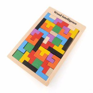 Tetris - dřevěná inteligentní hra pro děti