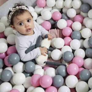 Plastové balonky pro děti - 2 barevné mixy