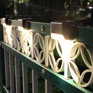 Solární lampa na schody