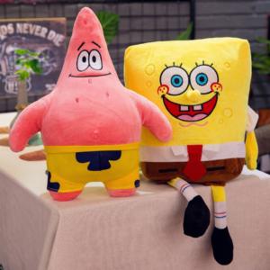 Plyšová hračka Spongebob nebo Patrik