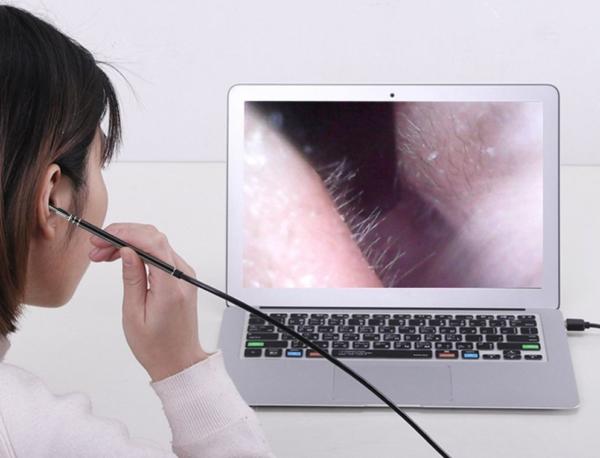 Nový multifunkční USB nástroj na čištění uší