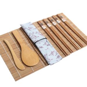 4 dílný set na výrobu sushi