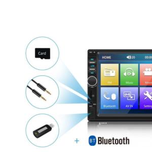 "Autorádio AR08 2DIN 7""LCD Bluetooth, mirror link"