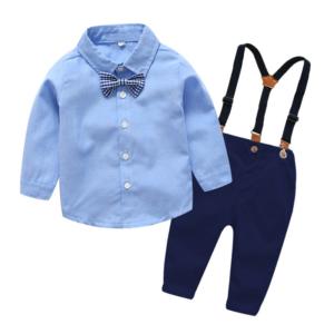 Elegantní chlapecká souprava - košile a kalhoty