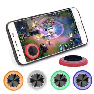 Přenosný kulatý herní joystick pro mobilní telefon a tablet