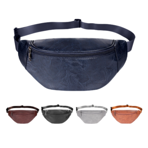 Módní taška do pasu v neformálním stylu
