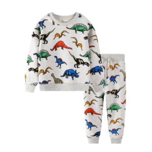 Chlapecká souprava s potiskem dinosaurů