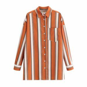 Dlouhá dámská oversize košile