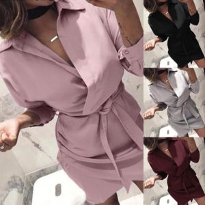 Dámské elegantní vinylové šaty