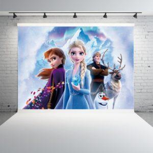 Nástěnná dekorace Frozen