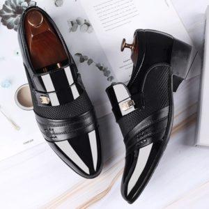 Pánské společenské boty s nízkým podpadkem