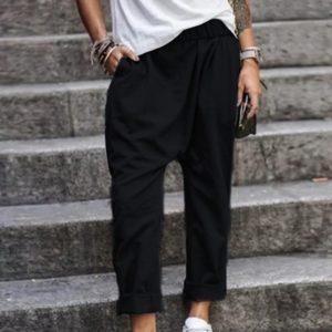 Moderní stylové dámské kalhoty Helen