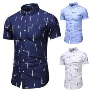 Elegantní pánská košile s krátkým rukávem