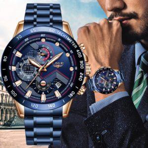 Pánské stylové hodinky Chron