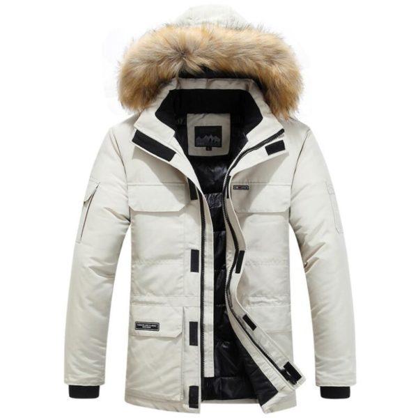 Pánská luxusní zimní bunda Mountain