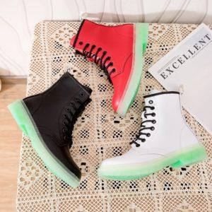 Dámské kotníkové zimní boty - s kožichem nebo bez