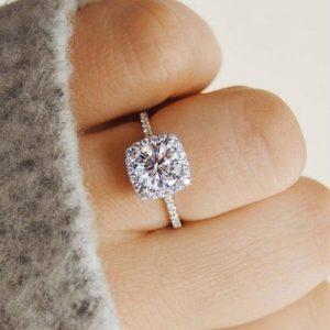Luxusní dámský prsten Crystal