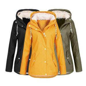 Dámská nepromokavá zateplená bunda