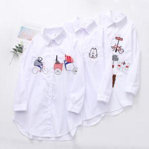Dámská volná stylová košile Renata