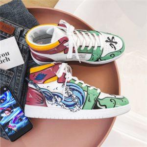 Pánské plátěné kotníkové vulkanizované boty Anime
