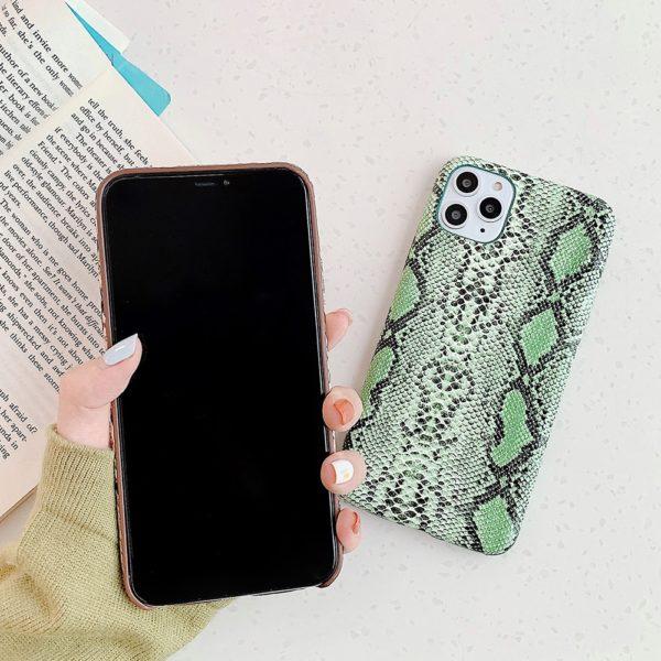 Nádherní hadí vzor krytu na iPhone