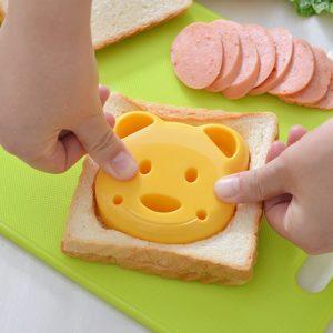 Malé medvědí sendvičové formy