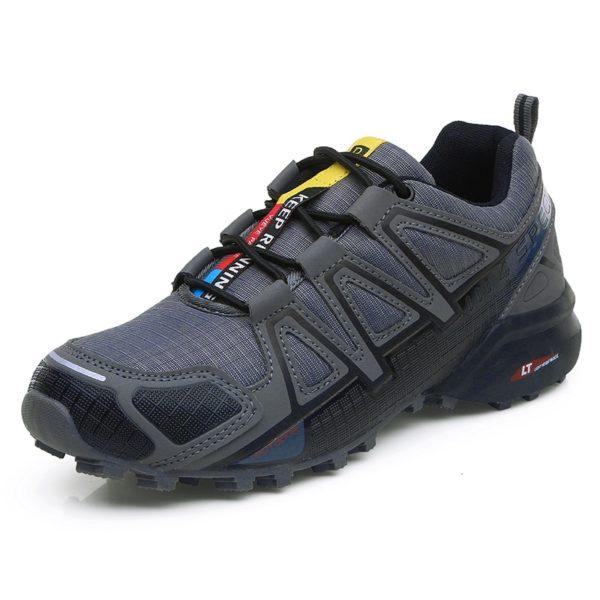 Outdoorové pánské protiskluzové boty - turistická obuv