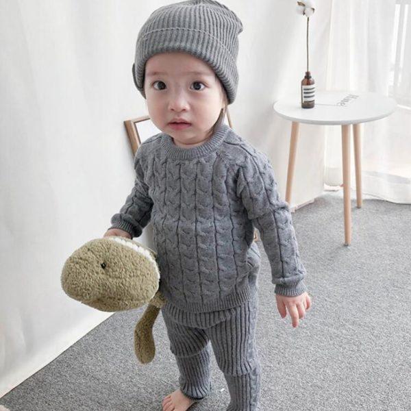 Dívčí kašmírový pletený svetr