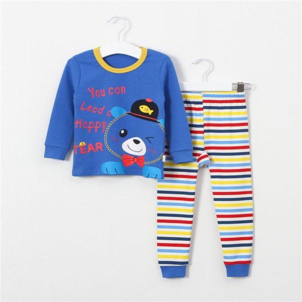 Dětské roztomilé pyžamo s potiskem zvířátek a jiné