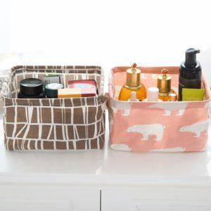 Stolní vodotěsné boxy na kosmetiku