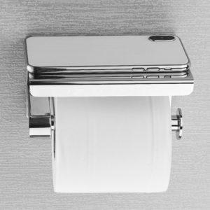 Moderní držák na toaleťák s odkládací plochou