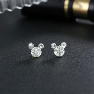 Dámské luxusní designové náušnice Mickey