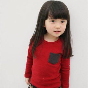 Dětské klasické tričko s kapsou Autumn