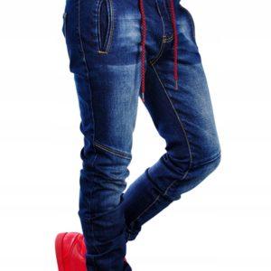 Pánské stylové kalhoty Patchwork