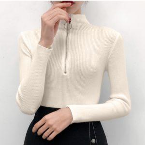 Dámský moderní slim svetr Camilla