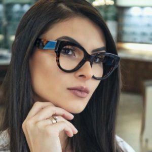 Dámské luxusní brýle Leana