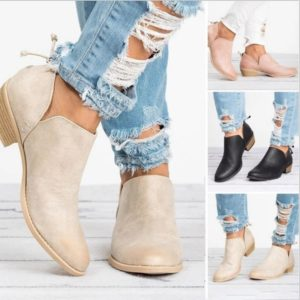 Dámské elegantní podzimní boty Laura