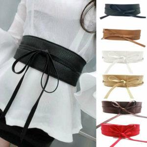 Elegantní široký pásek na zavazování