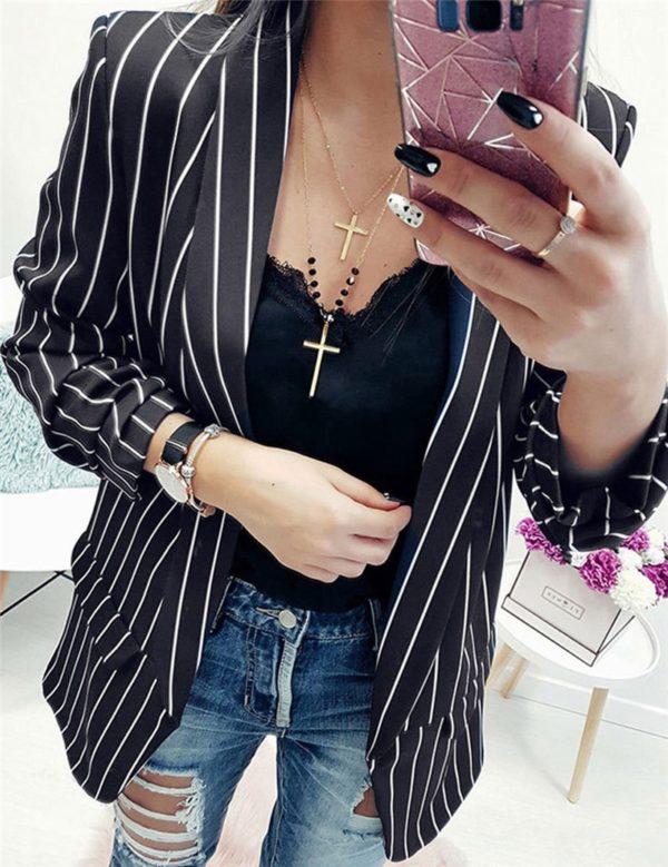 Elegantní stylové dámské sako Laura