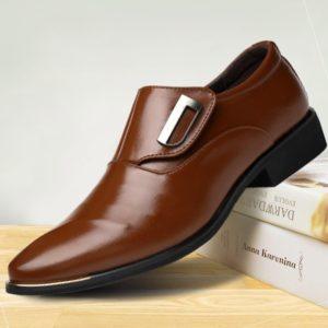 Pánská kožená obuv Chelsea