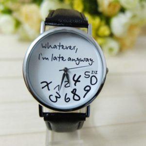 Dámské vtipné hodinky Manki