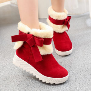 Dámské stylové zimní boty Jana