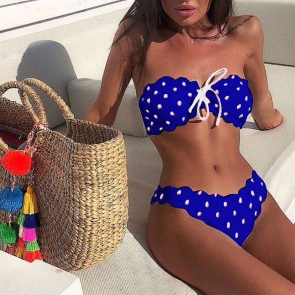 Luxusní stylové dámské plavky Sisi