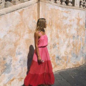 Dámské letní dlouhé šaty Cristina