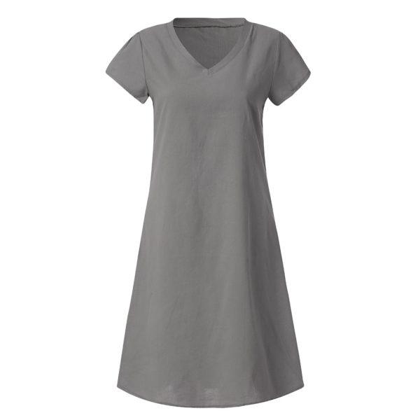 Dámské krátké plážové šaty s krátkým rukávem Eugenia